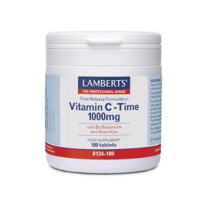 Lamberts Vitamin C-Time 1000mg 180ταμπλέτες