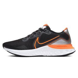 Nike Renew Run Men's Shoes CK6357-001 BLACK/TOTAL ORANGE-PARTICLE GREY-WHITE