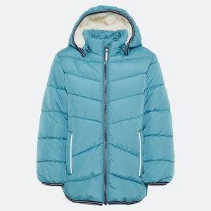 Name it NMMMUS PUFFER JACKET CAMP 13167534 STORM BLUE