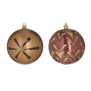 Inart Χριστουγεννιάτικα Στολίδια (Σετ 4τμχ) InArt 2-70-951-0042