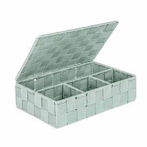 Wenko Κουτί Αποθήκευσης 4 Θέσεων Wenko Adria Mint 22567100