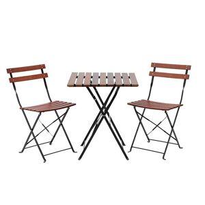 Click Τραπέζι Με Καρέκλες (Σετ 3τμχ) CL 3-50-040-0001