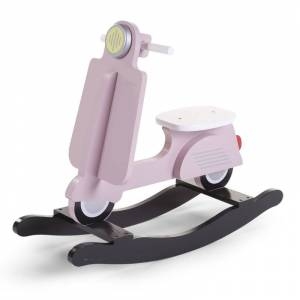 ChildHome Κουνιστό Scooter ChildHome Pink/Black 87759