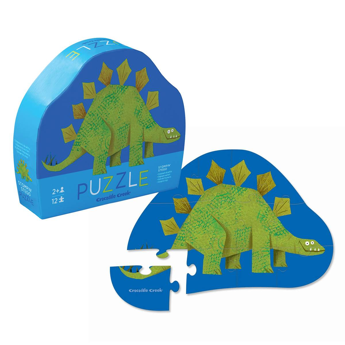 Crocodile Creek Παζλ Με 12 Κομμάτια Crocodile Creek Δεινόσαυρος