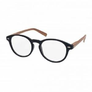 Eyelead Vitorgan Eyelead E187 Γυαλιά Διαβάσματος Unisex, Μαύρα με Ξύλινο Βραχίονα, 1τμχ