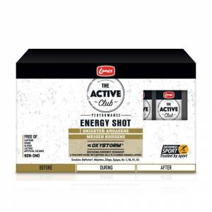 Lanes Active Club Energy Shot Ενέργειας πριν την άσκηση, 10x50ml
