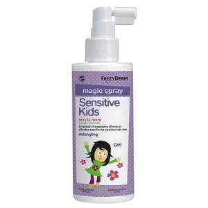 Frezyderm Sensitive Kids Magic Spray for Girls Παιδικό Σπρέι για Ξέμπλεγμα Μαλλιών, 150ml