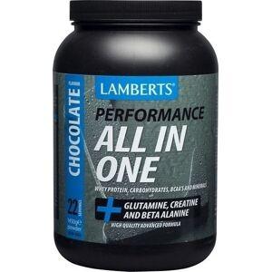 LAMBERTS Performance ALL-IN-ONE Whey Protein (Creatine & Beta Alanine) 1450gr - γεύση ΣΟΚΟΛΑΤΑ