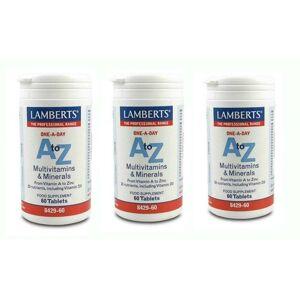 Lamberts 3xLAMBERTS A to Z MULTI VITAMINS, 60 tabs