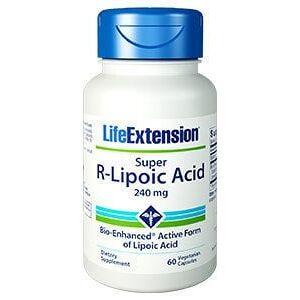 Life Extension - Φικιώρης Life Extension Super R Lipoic Acid 240mg, 60 caps