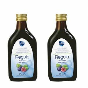 Cosval 2 x Cosval Regula Syrup Καθαρτικό Σιρόπι από Φρούτα, 2 x 175ml