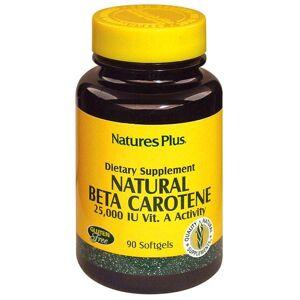 Nature's Plus Natural Beta Carotene, 90 softgels