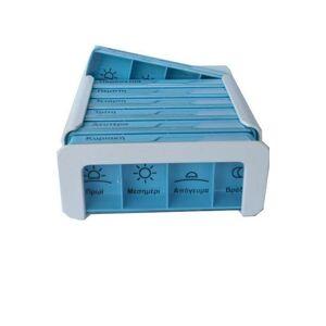 Anabox Compact Εβδομαδιαίο Κουτί Τακτοποίησης Χαπιών, 1τεμάχιο