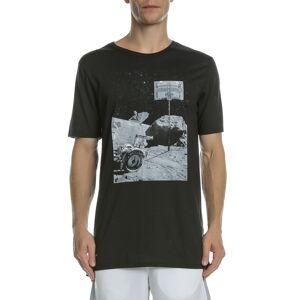 NIKE - Κοντομάνικη μπλούζα NIKE DRY MOONSHOT μαύρη  - Size: Small