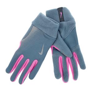 NIKE ACCESSORIES NIKE - Γυναικεία γάντια προπόνησης Nike γκρι  - Size: Small