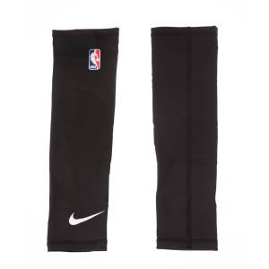 NIKE ACCESSORIES - Επιγονατίδες σετ των 2 NIKE KS.09.SM SHOOTER SLEEVES NBA μαύρες  - Size: Small