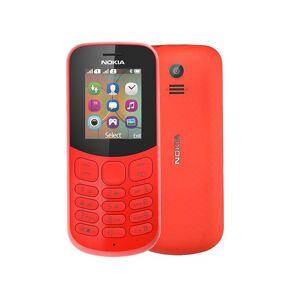 Nokia 130 2017 Dual Sim Red (Ελληνικό Μενού )