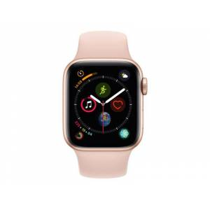 Apple Factory Refurbished Apple Watch 4 40mm GPS Gold Aluminum Case with Pink Sand Sport Band Grade A+++