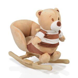 Moni κουνιστό Λούτρινο Αρκουδάκι Μπεζ Bear 106091