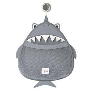 3 sprouts θήκη για τα σαμπουάν & τα παιχνίδια Bath Storage shark ITBSHK