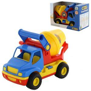 Polesie Toys Polesie παιχνίδι φορτηγό μπετονιέρα Construck Cementmixer 37695 37695
