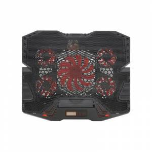 SPM Ρυθμιζόμενη Βάση Ψύξης για Laptop έως 17″ με 5 Ανεμιστήρες και LCD Οθόνη SPM 9740