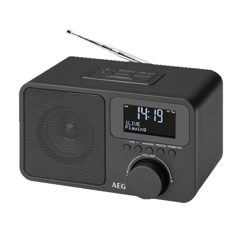 AEG Ραδιορολόι - Ξυπνητήρι με Δέκτη DAB+ AEG MRC4148