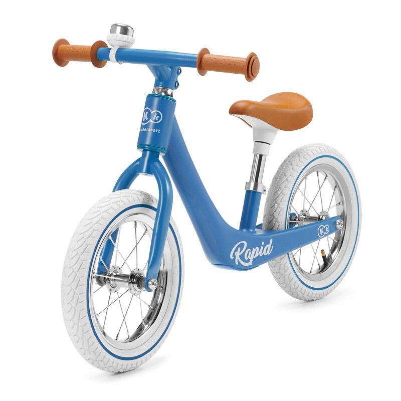 KinderKraft Παιδικό Ποδήλατο Ισορροπίας KinderKraft Rapid Χρώματος Μπλε