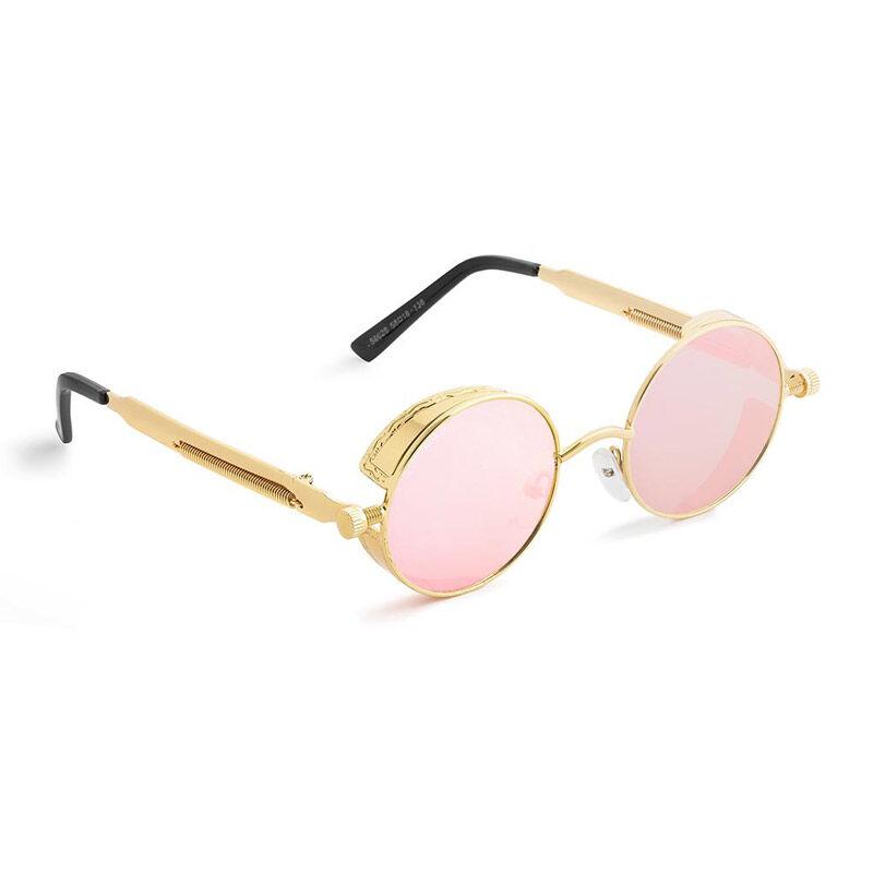 SPM Στρογγυλά Ρετρό Unisex Γυαλιά Ηλίου Χρώματος Ροζ SPM B3627