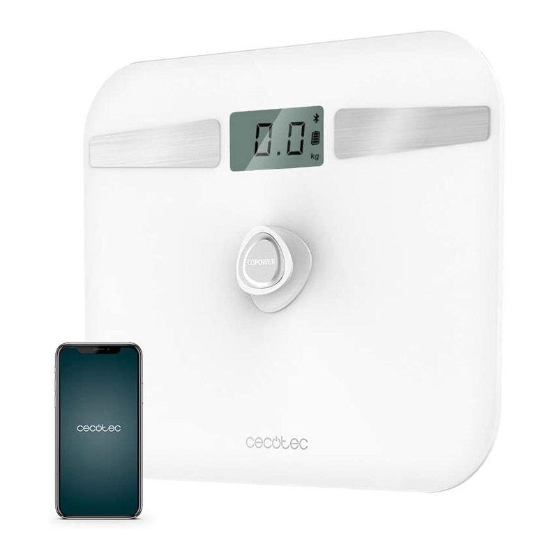 Cecotec Ψηφιακή Ζυγαριά Μπάνιου - Λιπομετρητής Cecotec Surface Precision EcoPower 10200 Smart Healthy Χρώματος Λευκό CEC-04254