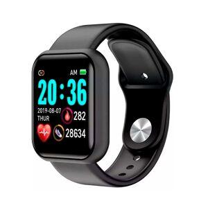 SPM Smartwatch L18 με Μετρητή Καρδιακών Παλμών Χρώματος Μαύρο SPM