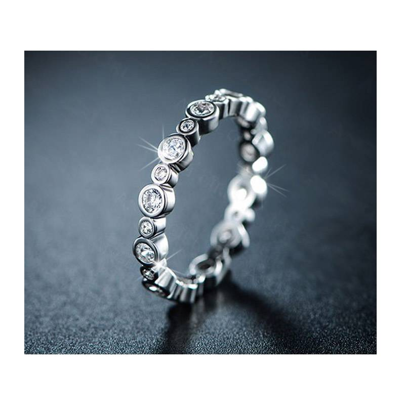 Beloved Δαχτυλίδι Bubble με Κρύσταλλα Swarovski® Beloved 652055