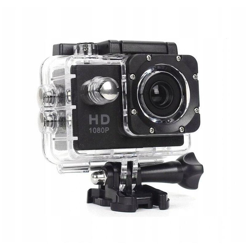 "SPM Αδιάβροχη Action Camera με Οθόνη LCD 2"" SPM Scamera-Black"