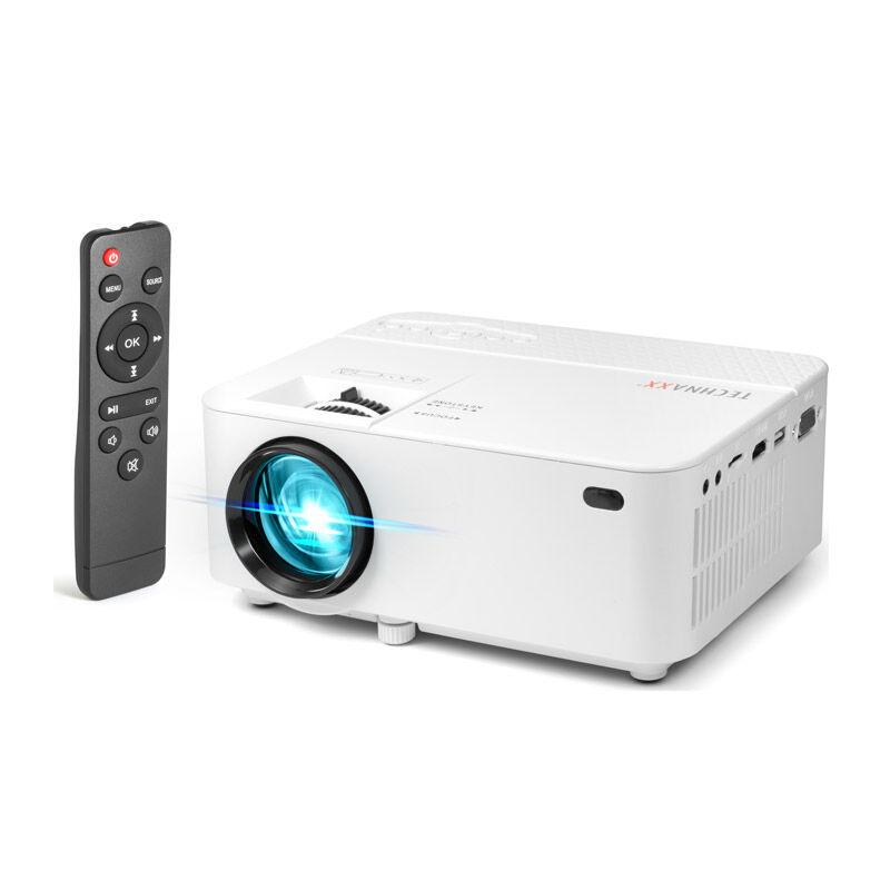 Technaxx Φορητός Προτζέκτορας LED 1800 ANSI Lumens 800 x 600 2000 : 1 με Τηλεχειριστήριο Technaxx TX-113