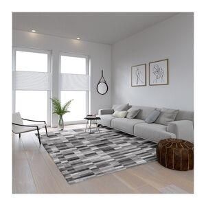 SPM Χαλί 160 x 230 cm Χωρίς Πέλος Qube Pattern Grey Χρώματος Γκρι SPM 322011