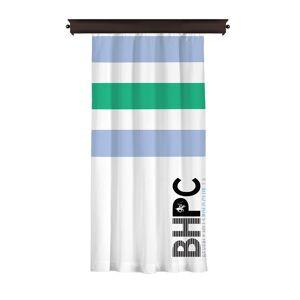Beverly Hills Polo Club Κουρτίνα με Τρουκς 140 x 260 cm Χρώματος Λευκό Beverly Hills Polo Club 176BHP8817