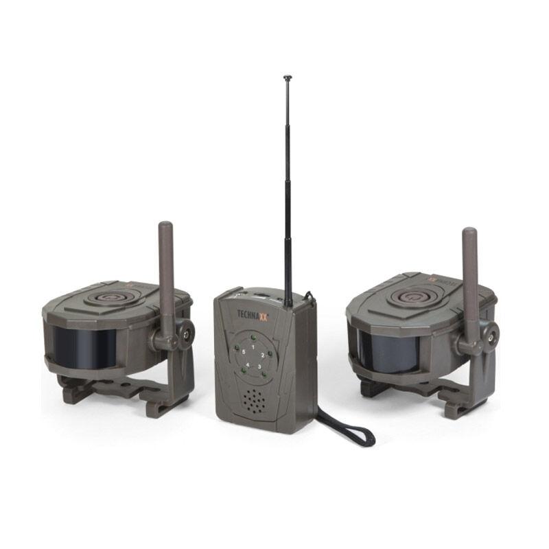 Technaxx Ασύρματο Σύστημα Συναγερμού με 2 Αισθητήρες Κίνησης Technaxx TX-104