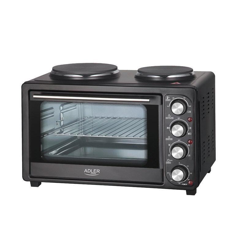 Adler Ηλεκτρικό Κουζινάκι με 2 Εστίες Μαγειρέματος 2500 W Adler AD-6020