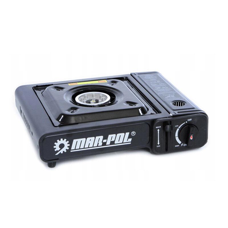 MAR-POL Φορητή Εστία Υγραερίου Μονή 2.5 kW MAR-POL M90015