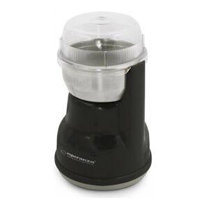 Esperanza Ηλεκτρικός Μύλος Άλεσης Καφέ και Μπαχαρικών Χρώματος Μαύρο Lungo Esperanza EKC-002
