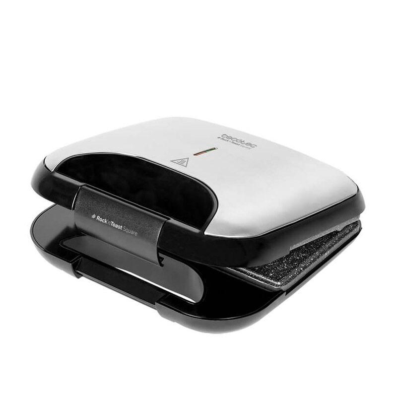Cecotec Τοστιέρα 750 W Rock'n Toast Square Cecotec CEC-03030