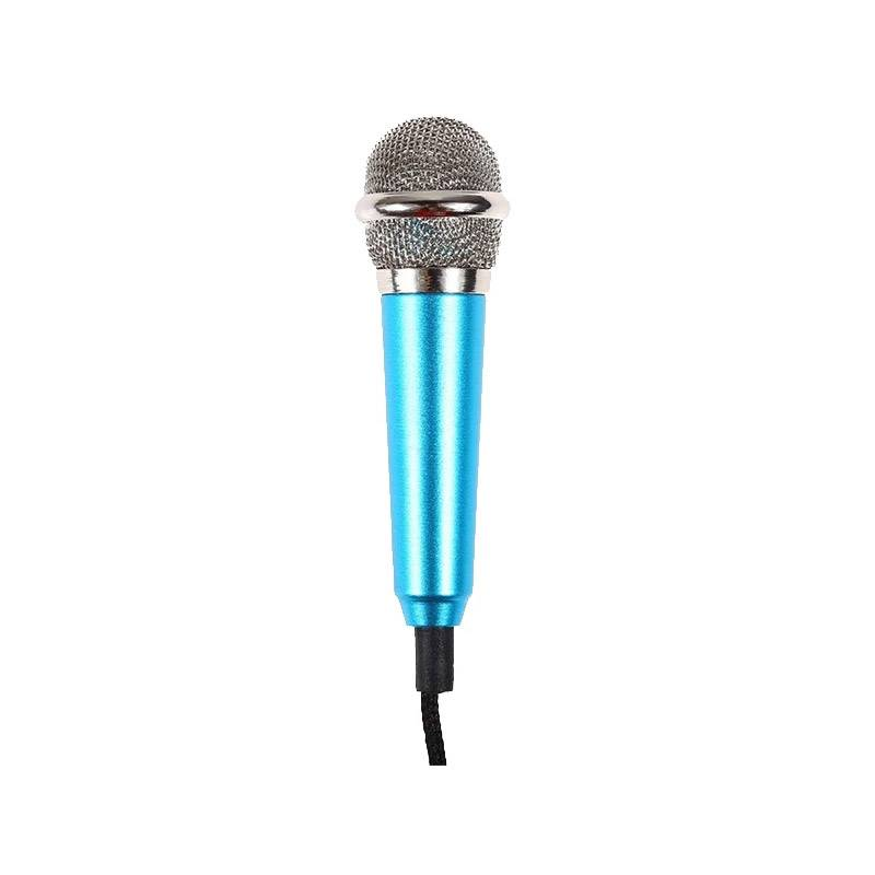 SPM Mini Μικρόφωνο Καραόκε Χρώματος Μπλε SPM DB7186