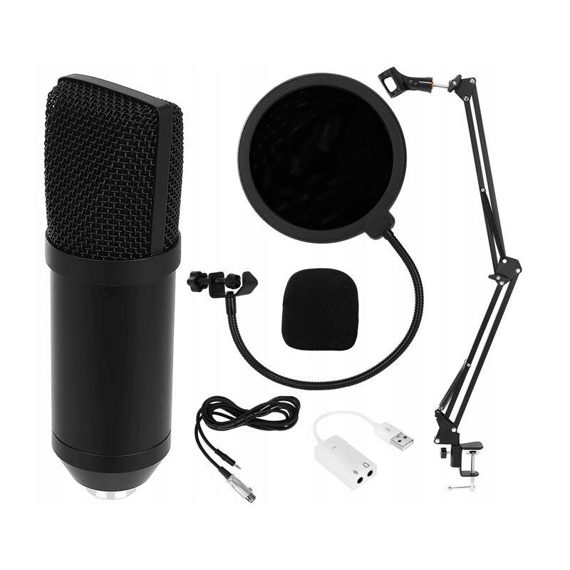 SPM Σετ Studio με Μικρόφωνο, Βάση Στήριξης και Anti-Pop Φίλτρο SPM 8957