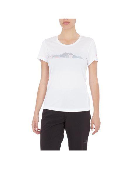 mc kinley τ-shirt rakka  - white-pink