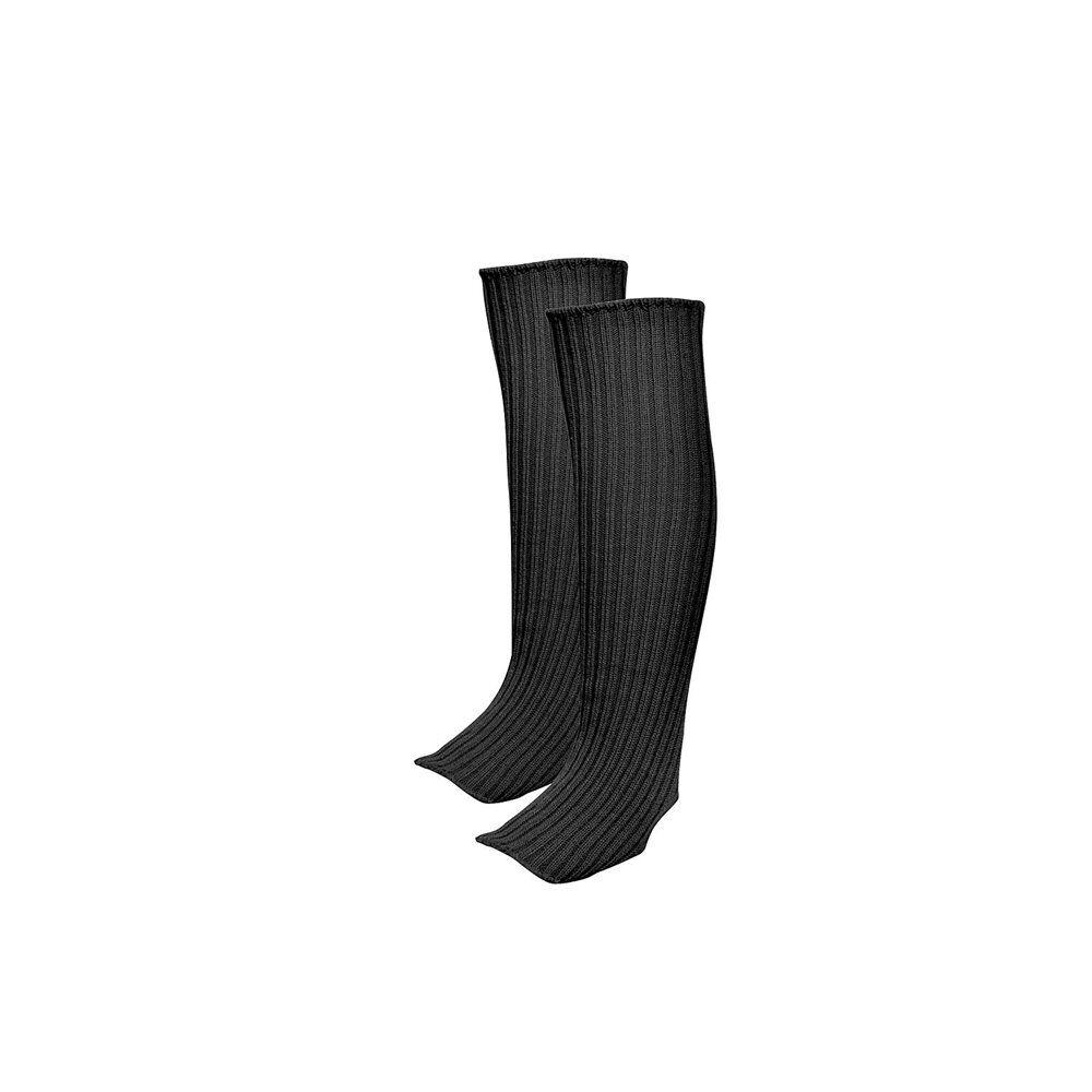 go dance γυναικείες κάλτσες 45cm legwarmer  - black