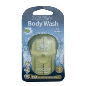 seatosummit trek & travel pocket body wash 50 leaf