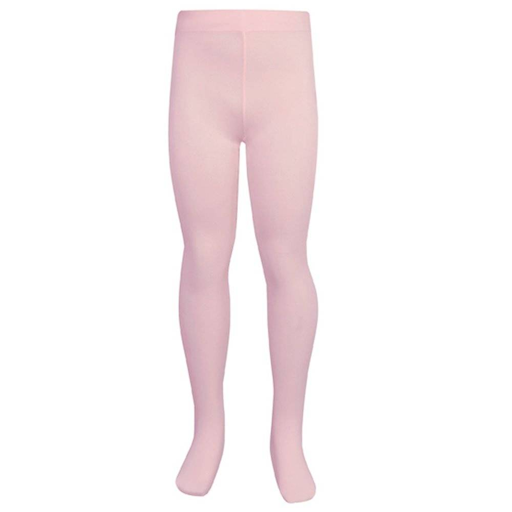 go dance girls micro fibre footed tight  - pink