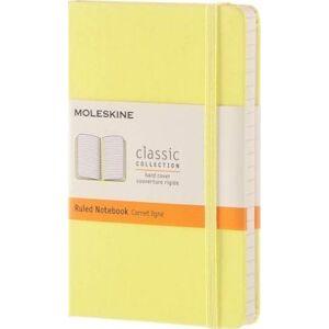 Moleskine Citron Yellow Pocket Ruled Notebook Hard by Moleskine
