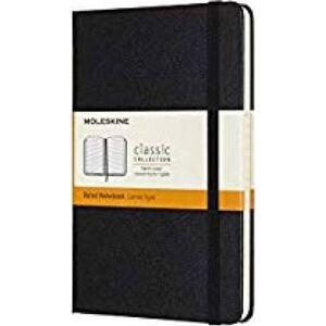 Moleskine Medium Ruled Hardcover Notebook: Black by Moleskine