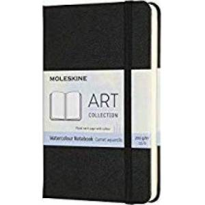 Moleskine Art Pocket Watercolour Notebook: Black by Moleskine